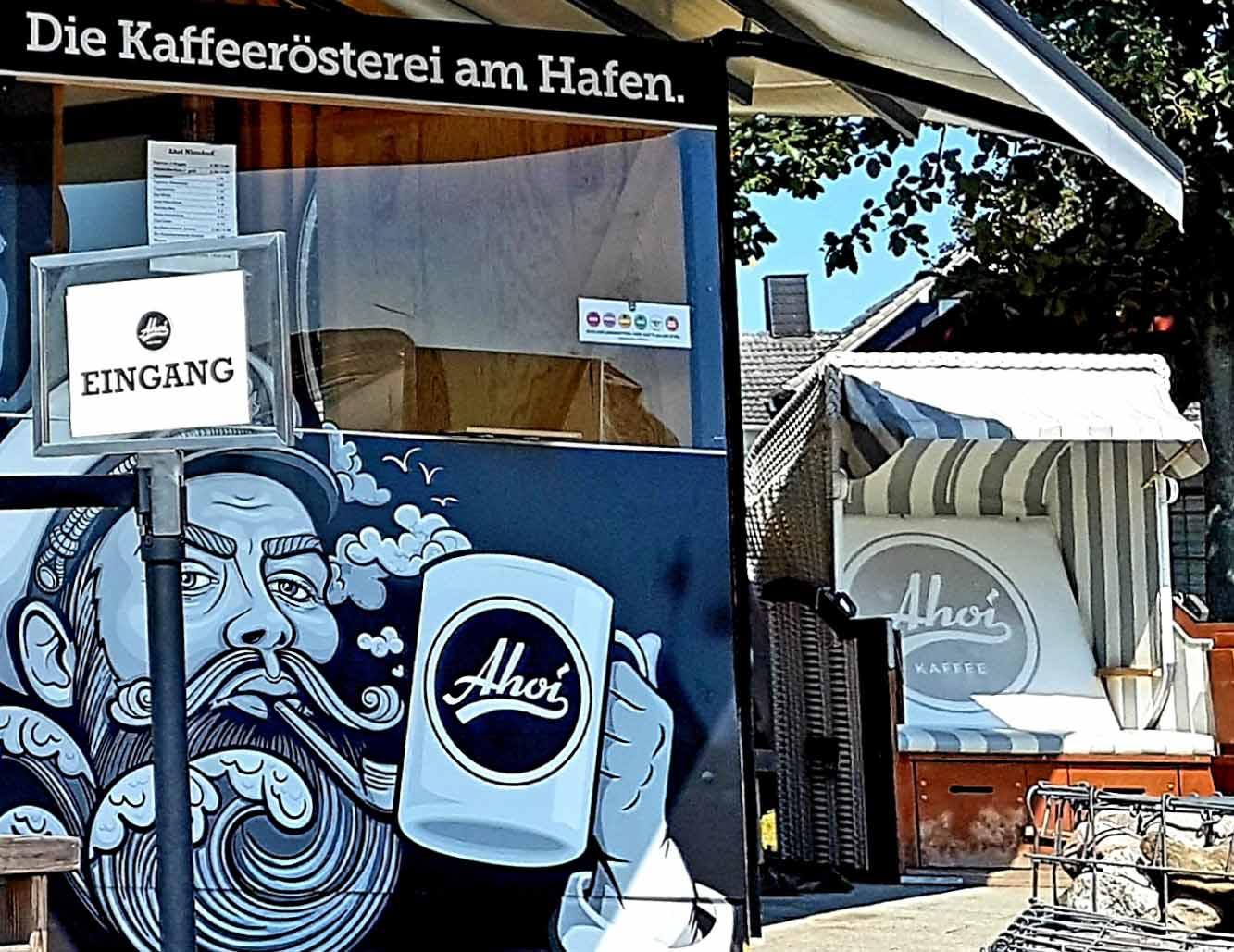 Niendorf Kaffeerösterei Ahoi