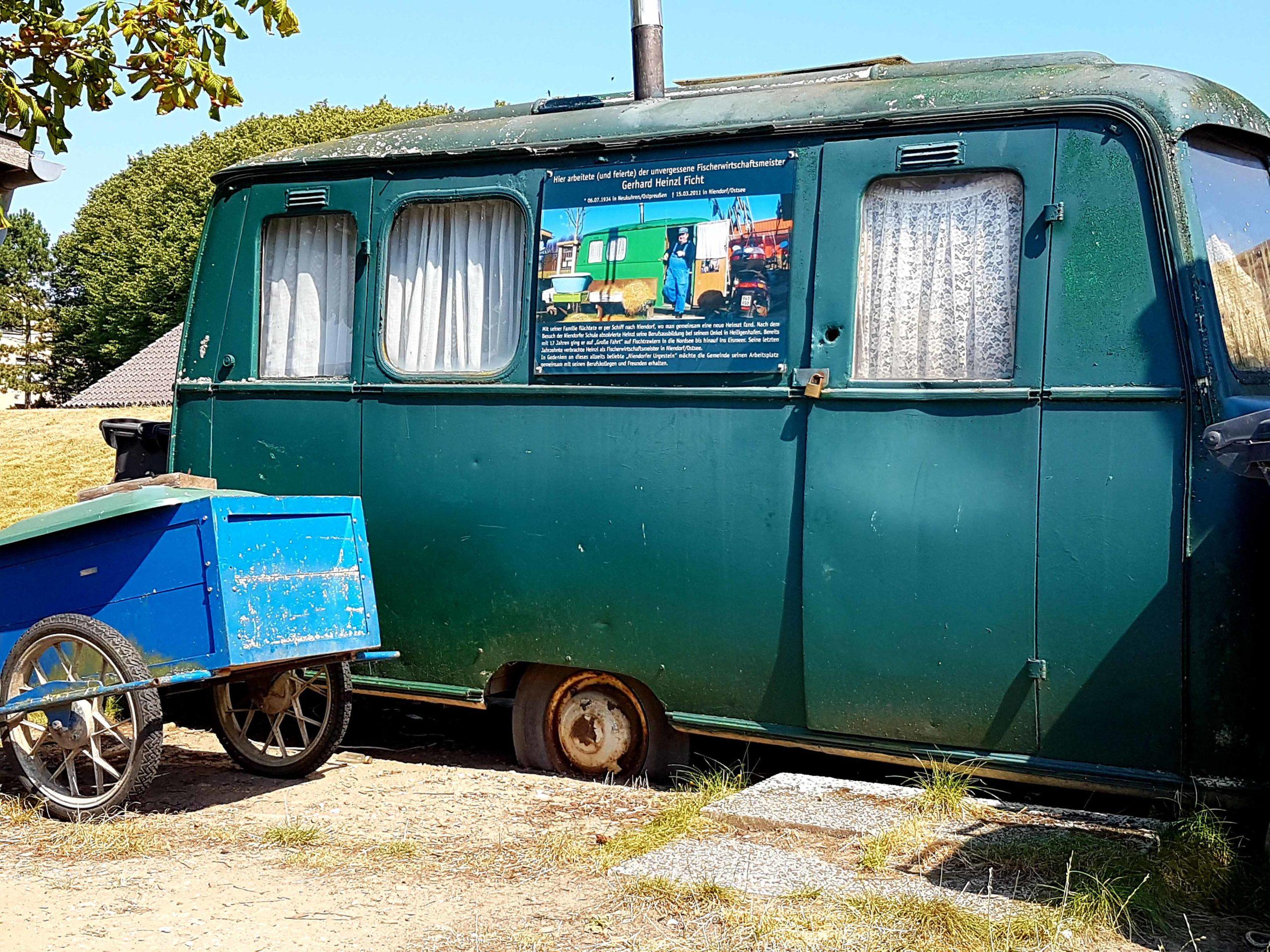 Niendorf Wagen des alten Fischerwirtschaftsmeisters