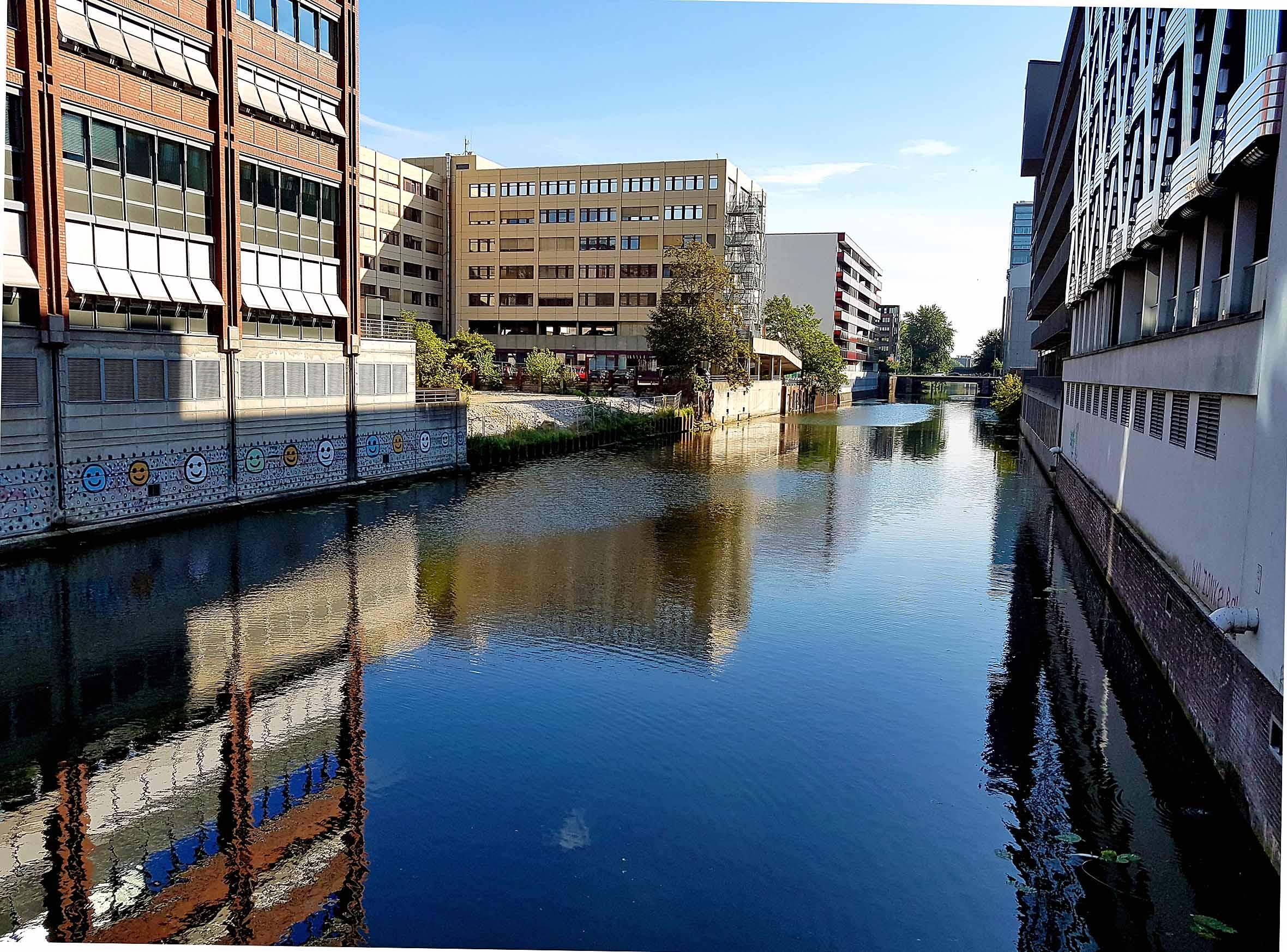 Hamburg Kanal Hammerbrook