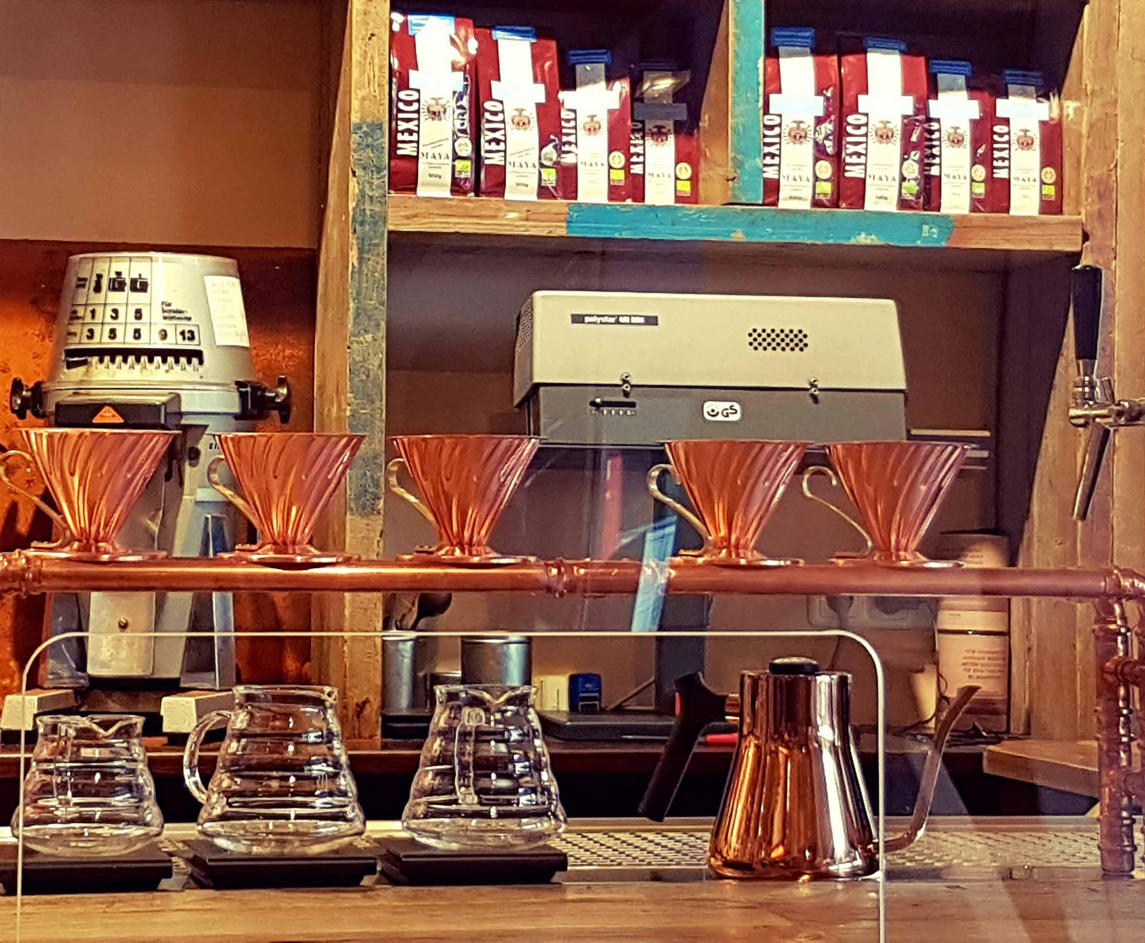 Hamburg Maya Kaffeerösterei Filter